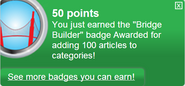 Bridge Builder (earned)