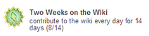 Two Weeks on the Wiki (sidebar)