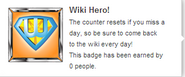 Wiki Hero! (req hover)
