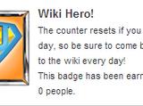 Wiki Hero!