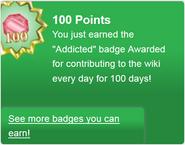 Addicted (earned)