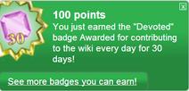 Devoted (earned)