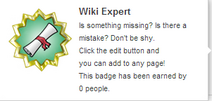 Wiki Expert (un-hover)