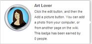 Art Lover (req hover)