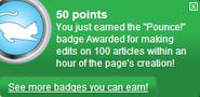 Pounce! (earned)