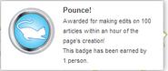 Pounce! (earned hover)