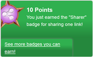 Sharer (earned)