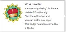 Wiki Leader (un-hover)