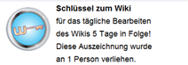 Schlüssel zum Wiki (Hover erh.)