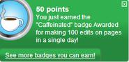 Caffeinated (earned)