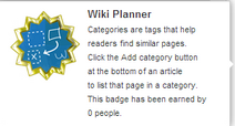 Wiki Planner (un-hover)