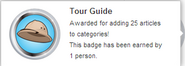 Tour Guide (earned hover)