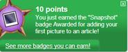 Snapshot (earned)