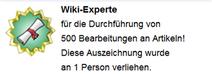 Wiki-Experte (Hover erh.)
