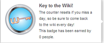 Key to the Wiki! (un-hover)