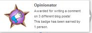 Opinionator (earned hover)