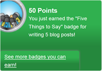 Five Things to Say (earned)