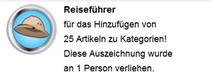Reiseführer (Hover erh.)