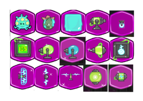 Bad piggies alien parts