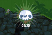 Bad piggies-skull