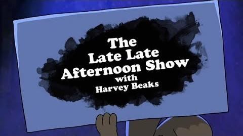 """Harvey Beaks Episode 21A - """"The Late Late Afternoon Show with Harvey Beaks"""""""