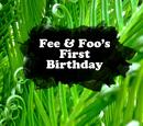 Fee & Foo's First Birthday