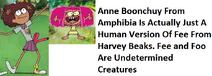 Amphibia anne and fee comparison