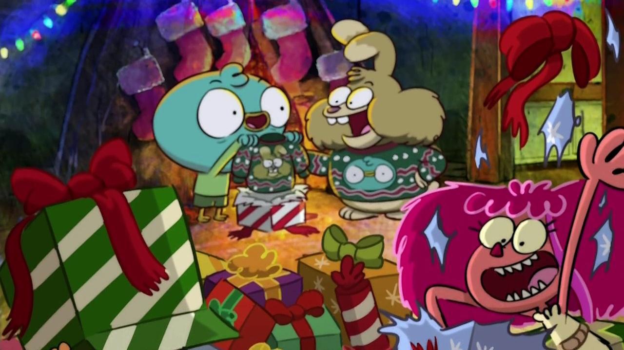 Harvey Beaks Season 2 Episode 11 - It's Christmas You Dorks!