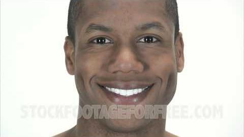 Free People Stock Footage Black Man Smiling at the Camera