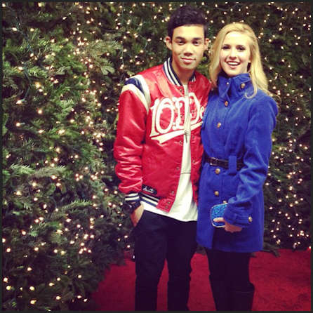 after party roshon fegan and caroline sunshine