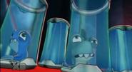 Trilladora y Electroshock asustadas