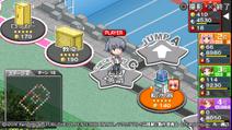 Kouta playing the game