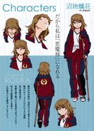 Rouka Numachi designs