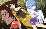 Oshino shinobu anime nisemonogatari araragi karen monogatari series www.wallmay.net 82