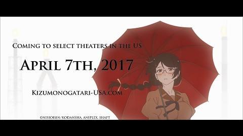KIZUMONOGATARI PART 3- REIKETSU Trailer