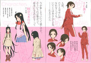 Owari 2 designs - Tsukihi & Nadeko