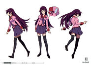 Hitagi bake designs