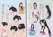 Zoku Owarimonogatari Concept Art7