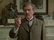 John Watson (Burke) asking about pipe
