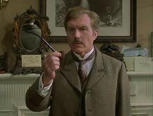 John Watson (Burke) asking about pipe