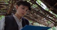 Enola looks for clues