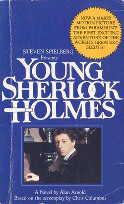 Young sherlock holmes novel 01