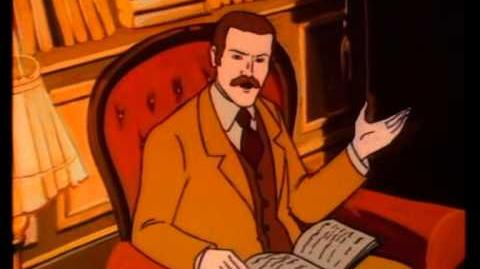 ENGLISH Sherlock Holmes and the Hound of the Baskervilles 1983 cartoon full movie baskerville curse-0