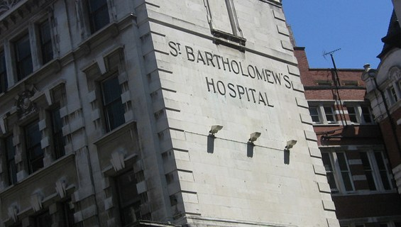 Image result for St Bartholomew's Hospital- London, England