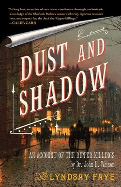 Dust and Shadow Faye cover
