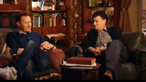 Steven Moffat & Mark Gatiss talk about 'The Fall' - Sherlock- Series 3 Episode 1 - BBC One