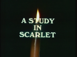 BBC 68 a study in scarlet title card