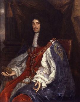 Charles II England Wright