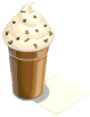 Drink Mixer-Frosty Coffee plate