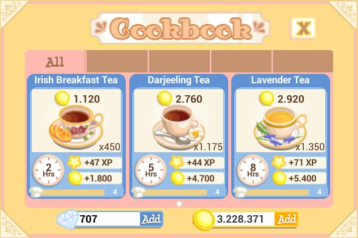 Tea Time Kettle recipes